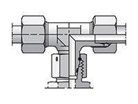 EO/EO-2 Tee, Swivel Nut Branch - ET