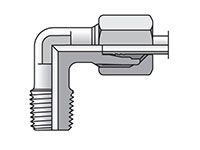 EO/EO-2 90° Elbow, Male Connector - WE-NPT