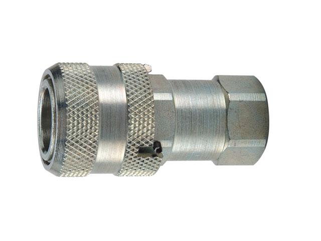 Tcc Female Thread on Hydraulic Quick Disconnect Symbol