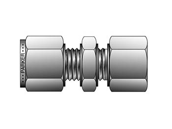A-LOK Metric Tube NPT Female Bulkhead Connector - FBC